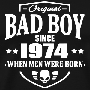 Bad Boy Since 1974 T-Shirts - Men's Premium T-Shirt