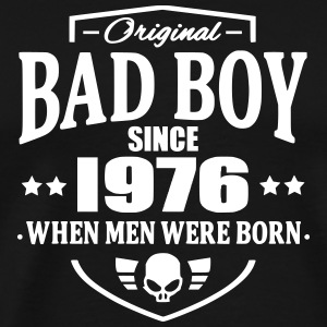 Bad Boy Since 1976 T-shirts - Herre premium T-shirt