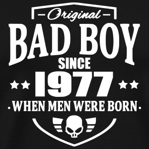 Bad Boy Since 1977 T-Shirts - Men's Premium T-Shirt