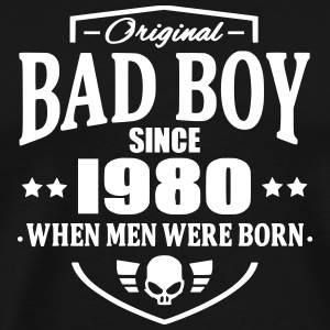 Bad Boy Since 1980 T-shirts - Premium-T-shirt herr