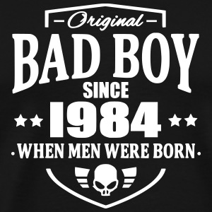 Bad Boy Since 1984 Camisetas - Camiseta premium hombre