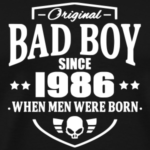 Bad Boy Since 1986 T-Shirts - Men's Premium T-Shirt