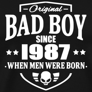 Bad Boy Since 1987 Camisetas - Camiseta premium hombre