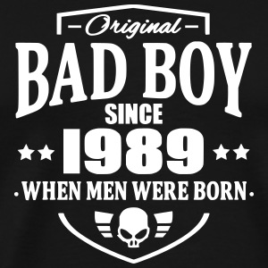 Bad Boy Since 1989 T-shirts - Premium-T-shirt herr