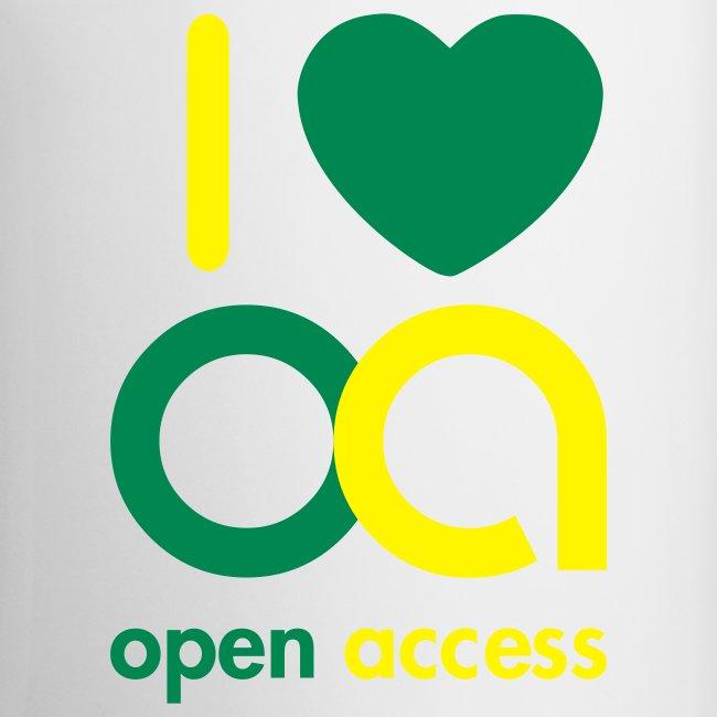 I love Open Access Tasse