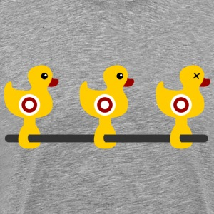 Shooting duck colored T-Shirts - Men's Premium T-Shirt