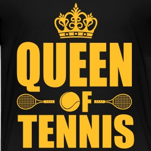 Queen of Tennis Shirts - Teenage Premium T-Shirt