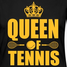 Queen of Tennis Long Sleeve Shirts