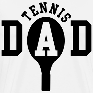 Tennis Dad T-shirts - Mannen Premium T-shirt