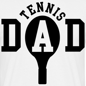 Tennis Dad T-shirts - Mannen T-shirt