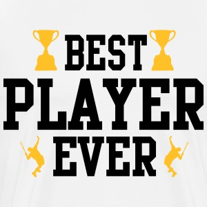 Tennis - best player ever T-Shirts - Männer Premium T-Shirt