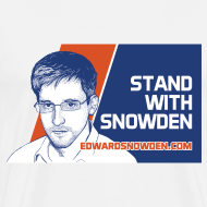 Design ~ Stand with Snowden Men's T-Shirt