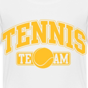 Tennis Team Shirts - Kinderen Premium T-shirt