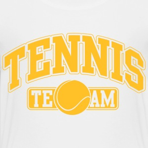 Tennis Team Shirts - Teenage Premium T-Shirt