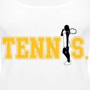 Tennis Tops - Women's Premium Tank Top