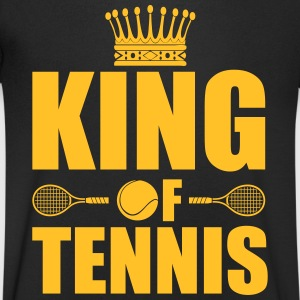 King of tennis T-Shirts - Men's V-Neck T-Shirt