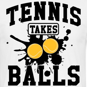Tennis takes balls T-skjorter - T-skjorte for menn