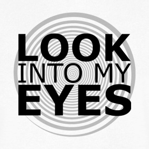 Look Into My Eyes V Neck - Men's V-Neck T-Shirt
