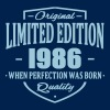 Limited Edition 1986 - Men's Premium Hoodie