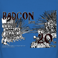 Design ~ BADcon 2015 20th year shirt - slim fit