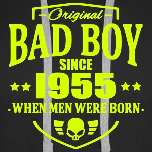 Bad Boy Since 1955 - Sweat-shirt à capuche Premium pour hommes