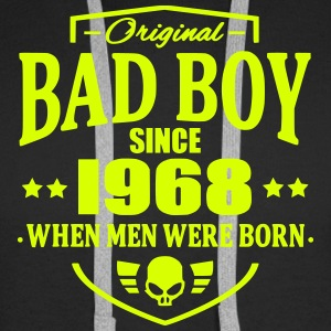 Bad Boy Since 1968 - Sweat-shirt à capuche Premium pour hommes