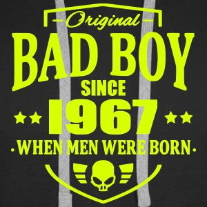 Bad Boy Since 1967 - Bluza męska Premium z kapturem