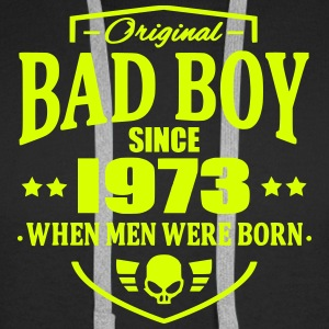 Bad Boy Since 1973 - Sweat-shirt à capuche Premium pour hommes