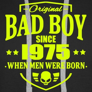 Bad Boy Since 1975 - Sweat-shirt à capuche Premium pour hommes