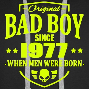 Bad Boy Since 1977 - Sweat-shirt à capuche Premium pour hommes