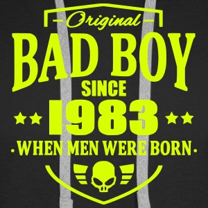 Bad Boy Since 1983 - Sweat-shirt à capuche Premium pour hommes