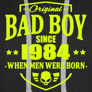 Bad Boy Since 1984 - Sweat-shirt à capuche Premium pour hommes