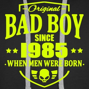 Bad Boy Since 1985 - Sweat-shirt à capuche Premium pour hommes