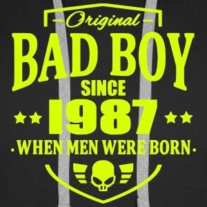 Bad Boy Since 1987 - Men's Premium Hoodie