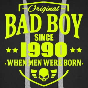 Bad Boy Since 1990 - Sweat-shirt à capuche Premium pour hommes