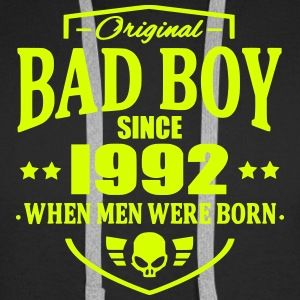 Bad Boy Since 1992 - Sweat-shirt à capuche Premium pour hommes