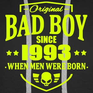 Bad Boy Since 1993 - Sweat-shirt à capuche Premium pour hommes