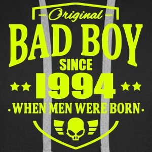 Bad Boy Since 1994 - Sweat-shirt à capuche Premium pour hommes