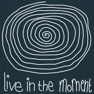 Live In The Moment T-shirts - T-shirt herr
