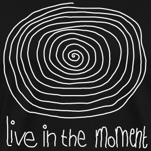 Live In The Moment Tee shirts - T-shirt Premium Homme