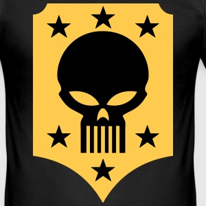 skull and stars T-Shirts - Men's Slim Fit T-Shirt