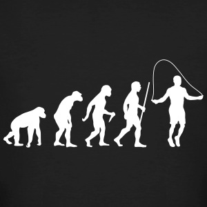 Evolution Rope Skipping T-shirts - Mannen Bio-T-shirt