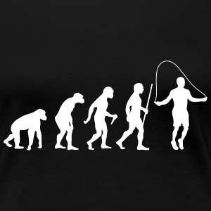 Evolution Rope Skipping T-Shirts - Women's Premium T-Shirt