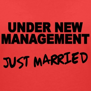 Under new Management - Just married Tee shirts - T-shirt col V Femme