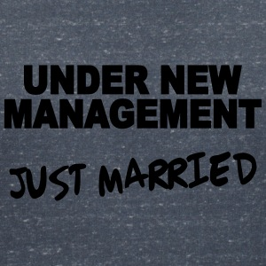 Under new Management - Just married T-Shirts - Women's V-Neck T-Shirt