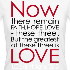 now love - 3 Color Vector T-Shirts - Women's Organic T-shirt