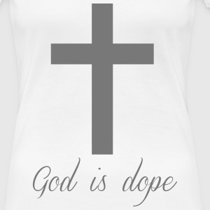 God is  T-Shirts - Women's Premium T-Shirt