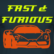Design ~ T shirt FAST & FURIOUS
