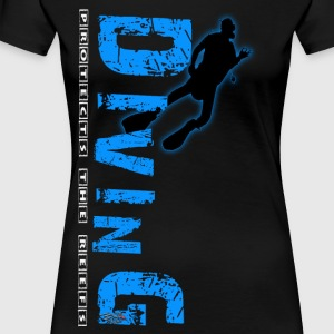 Diving - protects the reefs T-Shirts - Frauen Premium T-Shirt