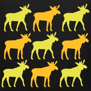 Nine Elk vector Singlets - Premium singlet for menn